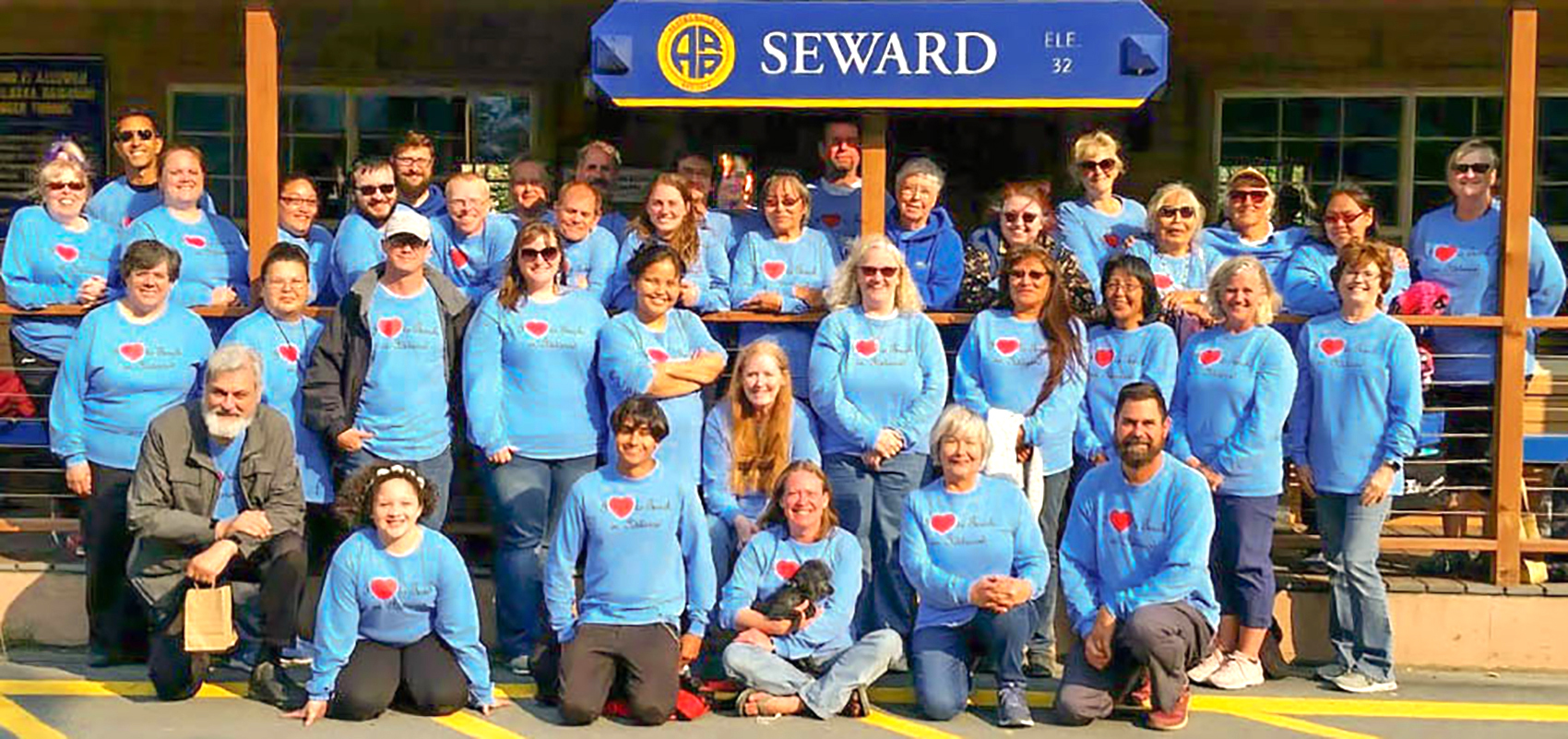Photo of the Iditarod Area School District Staff in Seward